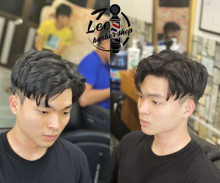 Những kiểu tóc được design bởi những thợ cắt tóc lành nghề ở Leebarber - Ảnh: Leebarber