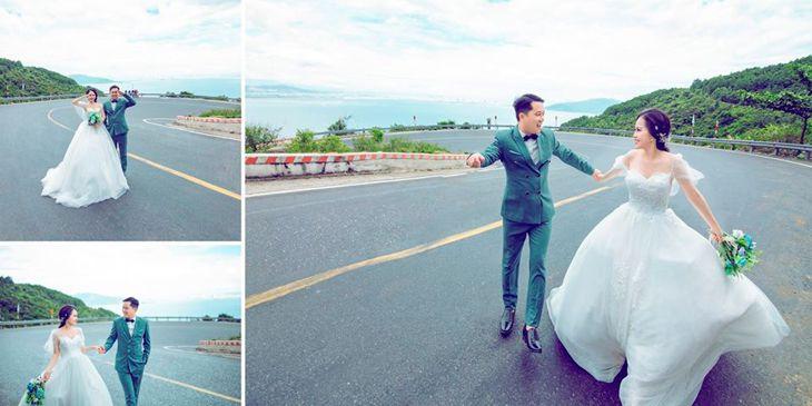 Những tấm ảnh cưới thật lung linh và tươi trẻ
