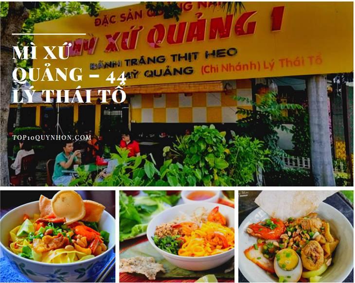 Tiệm mì xứ Quảng - địa điểm thưởng thức mì quảng ngon ở Quy Nhơn - top10quynhon.com