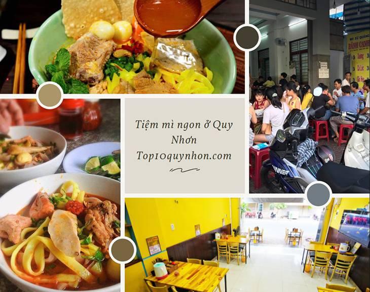 Tiệm mì quảng ngon ở Quy Nhơn