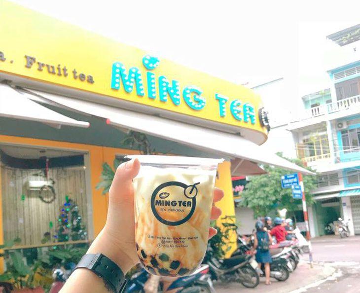Trà Sữa Ming Tea Quy Nhơn, quán trà sữa ngon nhất nhì ở Quy Nhơn - Ảnh:ST