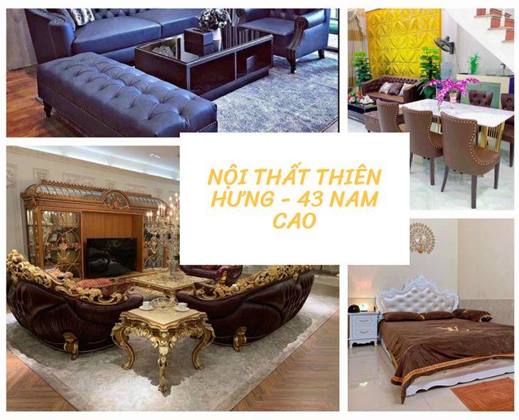 Cửa hàng nội thất Thiên Hưng - đây cũng là một trong những cửa hàng bán, thiết kế, thi công nội thất