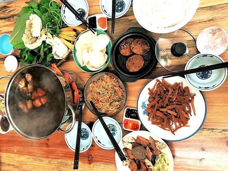 Với nhiều món ăn hấp dẫn, ngon miệng đã dần chinh phục được những thực khách sành ăn - ảnh:ST
