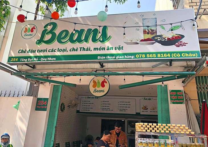 Quán chè bean, một trong những quán chè cũng rất ngon - Ảnh:ST