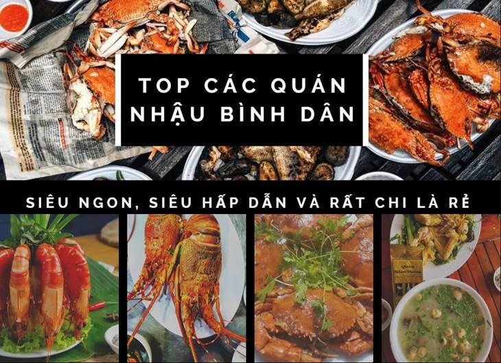 Top 6 quán nhậu Quy Nhơn với tiêu chí NGON BỔ RẺ