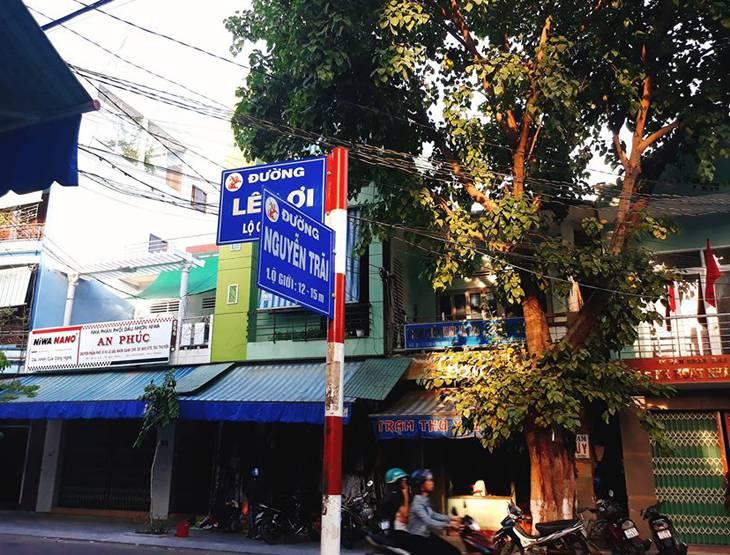 Tọa lạc trên đường Nguyễn Trãi