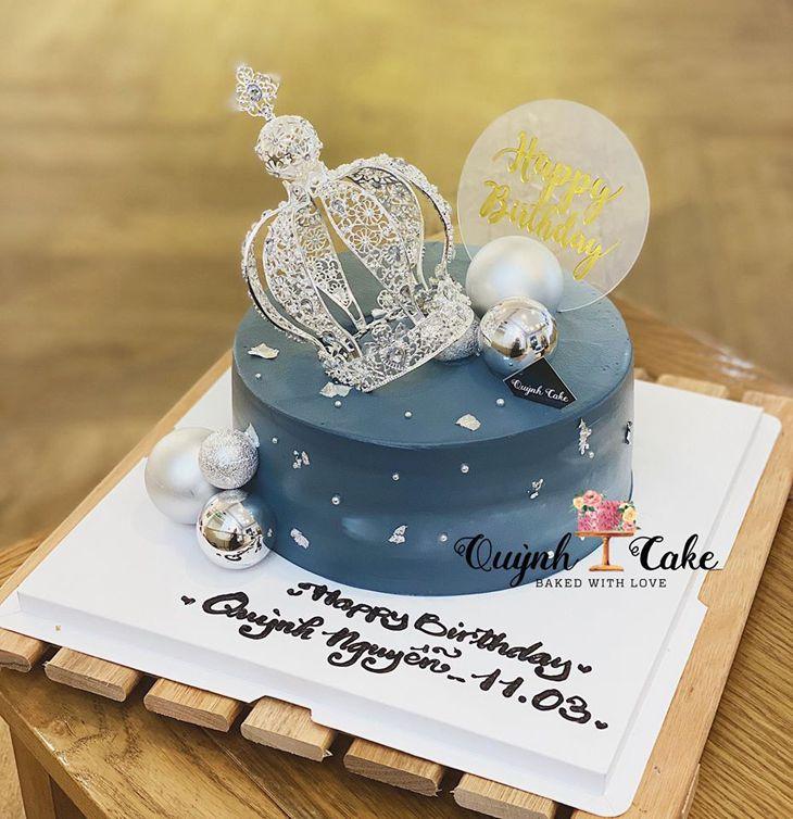 Những chiếc bánh sinh nhật rất đẹp và bắt mắt - Ảnh: Quynh Cake