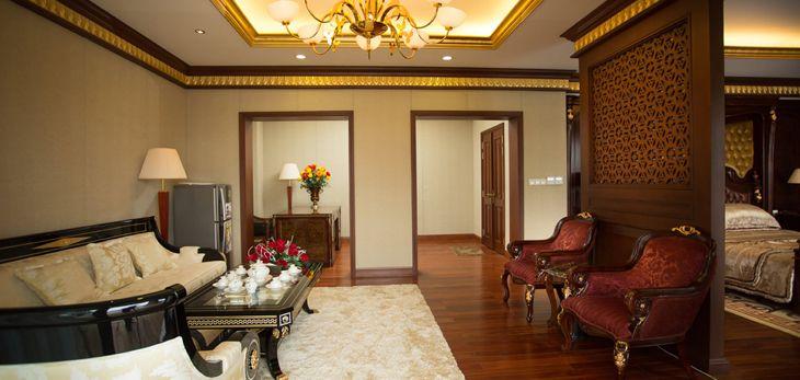 Nhà hàng du thuyền rất đặc sắc của khách sạn HoàngGia Quy Nhơn, các món ăn phong phú - Ảnh:ST