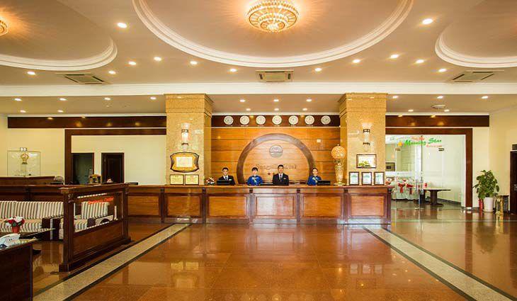 Khách sạn Seagull đẳng cấp 4 sao, với đầy đủ tiện nghi hiện đại - Ảnh:ST