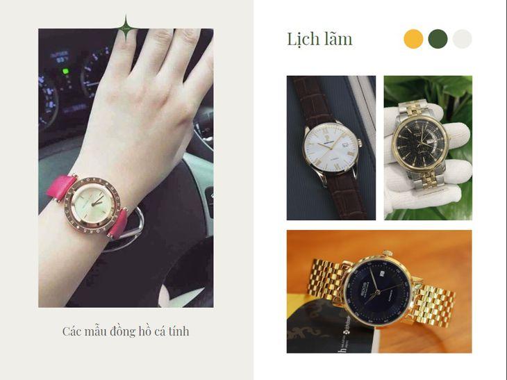 Là một trong cửa hàng bán đồng hồ lớn nhất Quy Nhơn, với cửa hàng rộng rãi, nhân viên nhiệt tình