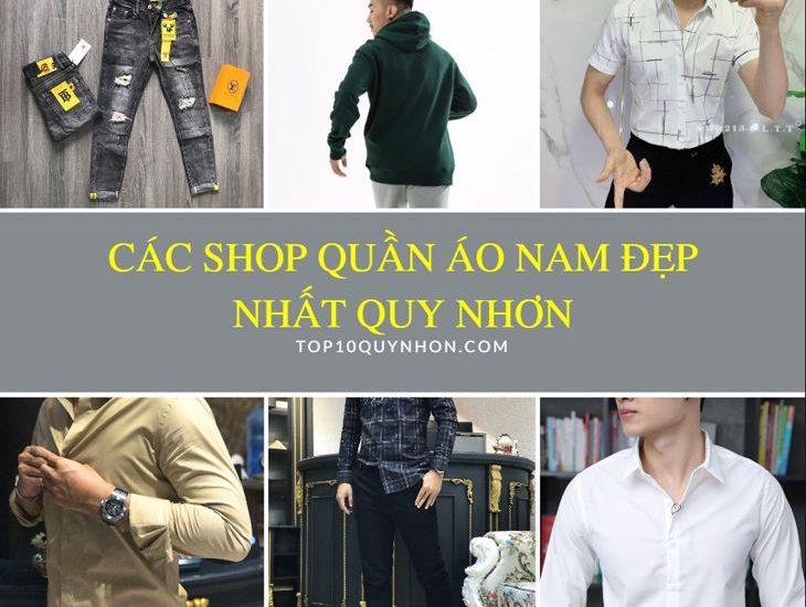Top 6️⃣ Cửa hàng quần áo nam Quy Nhơn – Đẹp và giá hợp lý nhất