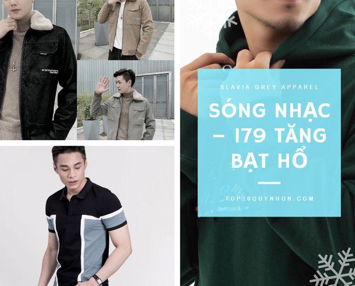 Sóng Nhạc - 179 Tăng Bạt Hổ là một shop thời trang nam thân thuộc của rất nhiều bạn trẻ