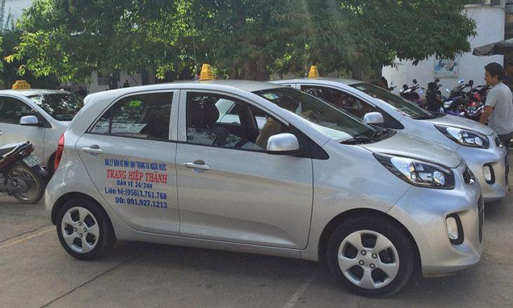 Taxi Trang Hiệp Thành cũng là một lựa chọn tốt cho mỗi chuyến đi - Ảnh: ST