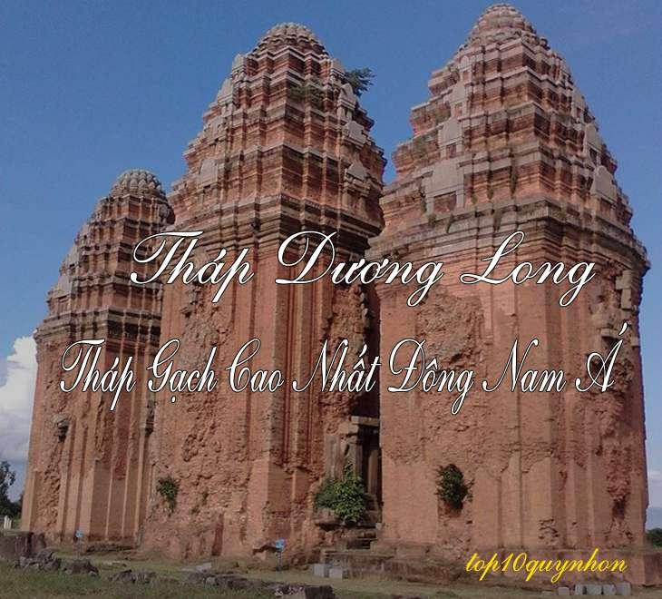 Tháp Dương Long Bình Định