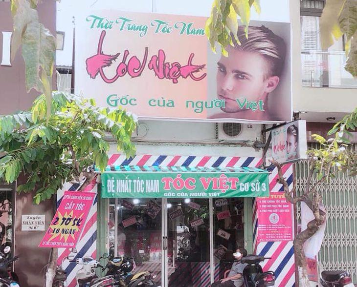 Tiệm cắt Tóc Việt Quy Nhơn một trong những tiệm cắt tóc rẻ đẹp ở Quy Nhơn - Ảnh:Tocvietquynhon