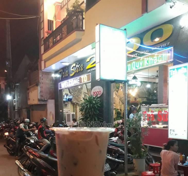 Quán trà sữa nối tiếng và lâu đời ở Quy Nhơn - Ảnh:ST