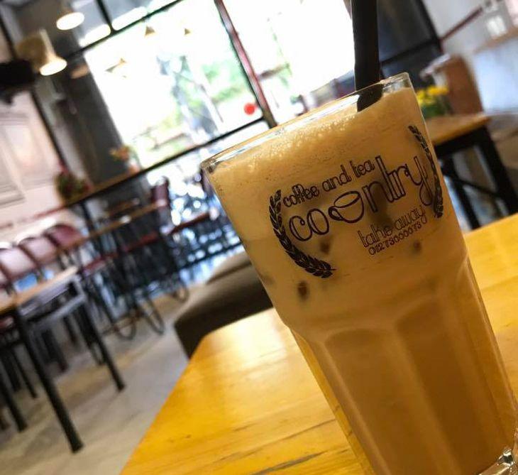 Trà sửa Country một trong những quán trà sữa ngon ở Quy Nhơn - Ảnh ST
