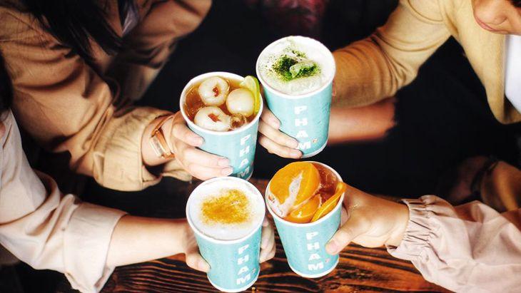 Trà Sữa Phạm's House rất chịu đầu tư về phong cách và thức uống - Ảnh:ST