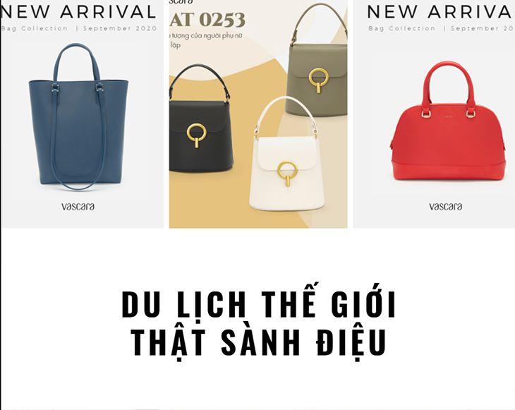 Các mẫu túi xách phong cách và rất dễ phối đồ - Top10quynhon