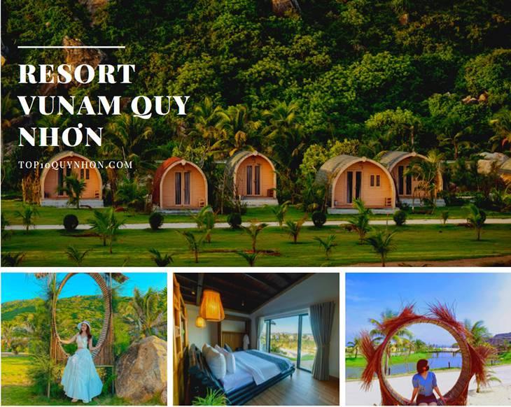Khu resort Vunam Quy Nhơn
