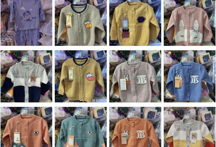 Các mẫu quần áo đa dạng